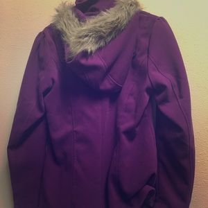 Women's winter peacoat